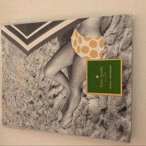 New Kate Spade Notebook Journal Lined Pages Beach
